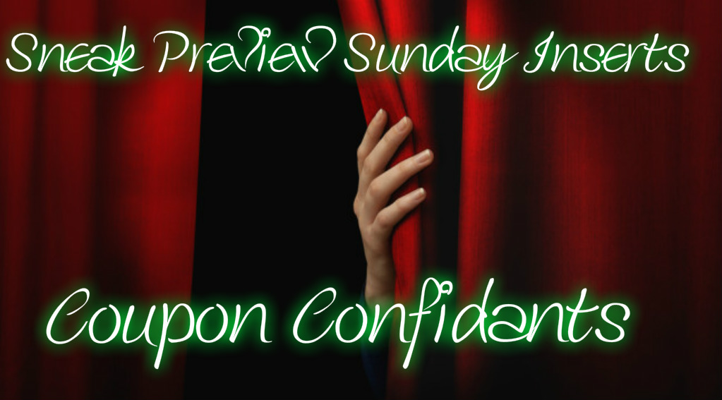 Sunday Coupon Insert Preview 4/2/17