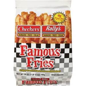 checkers $1 fries