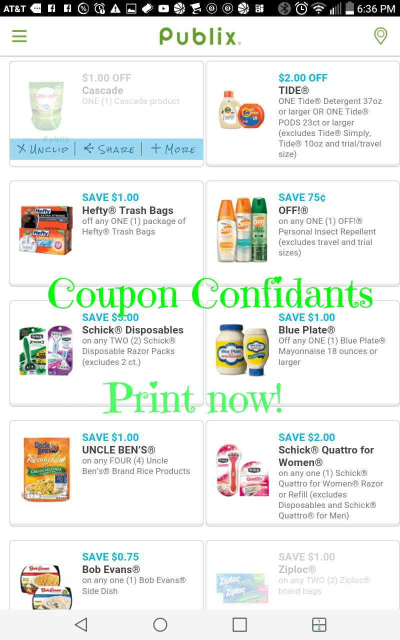 Publix pharmacy coupons printable