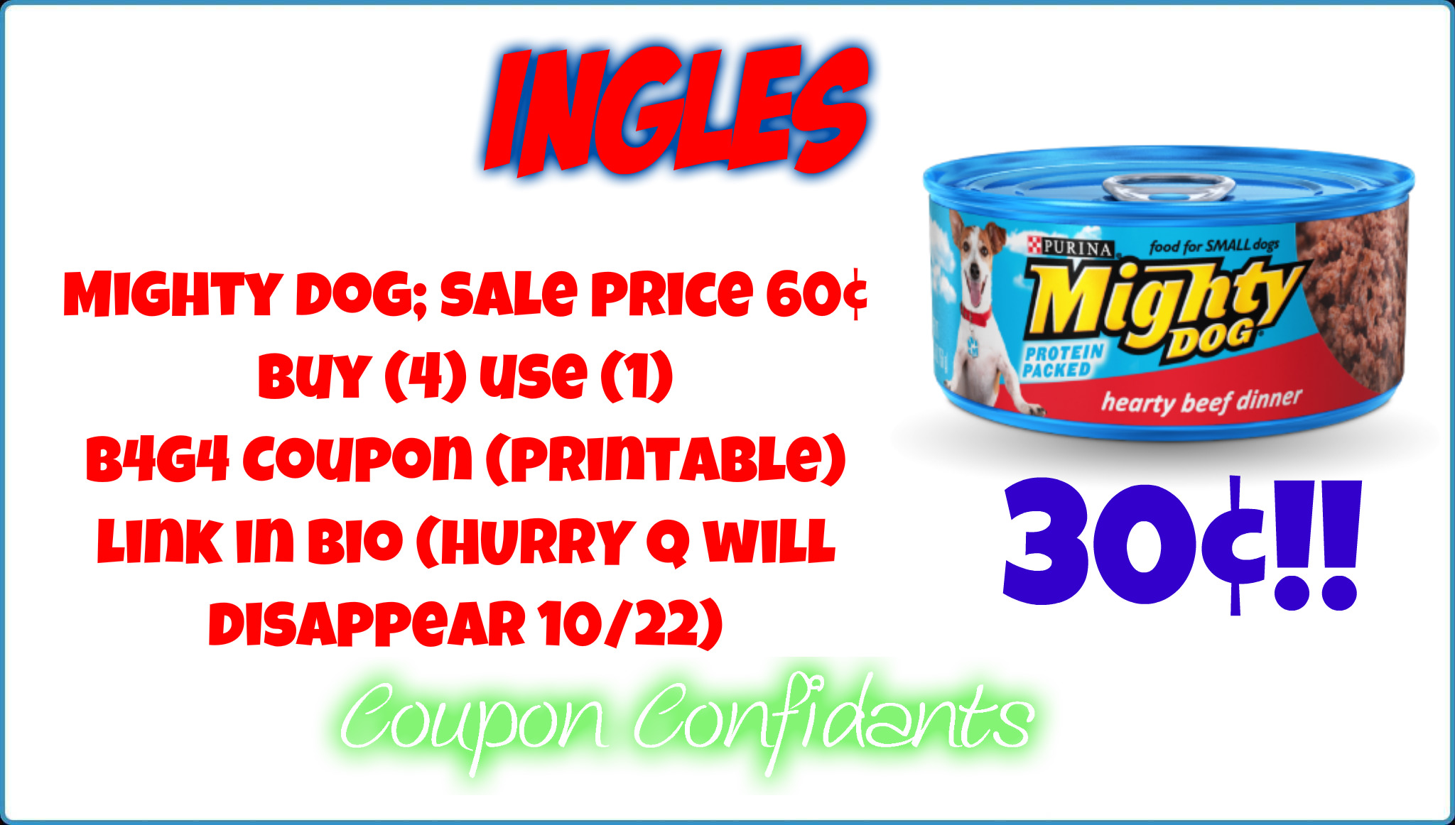 Mighty dog coupons