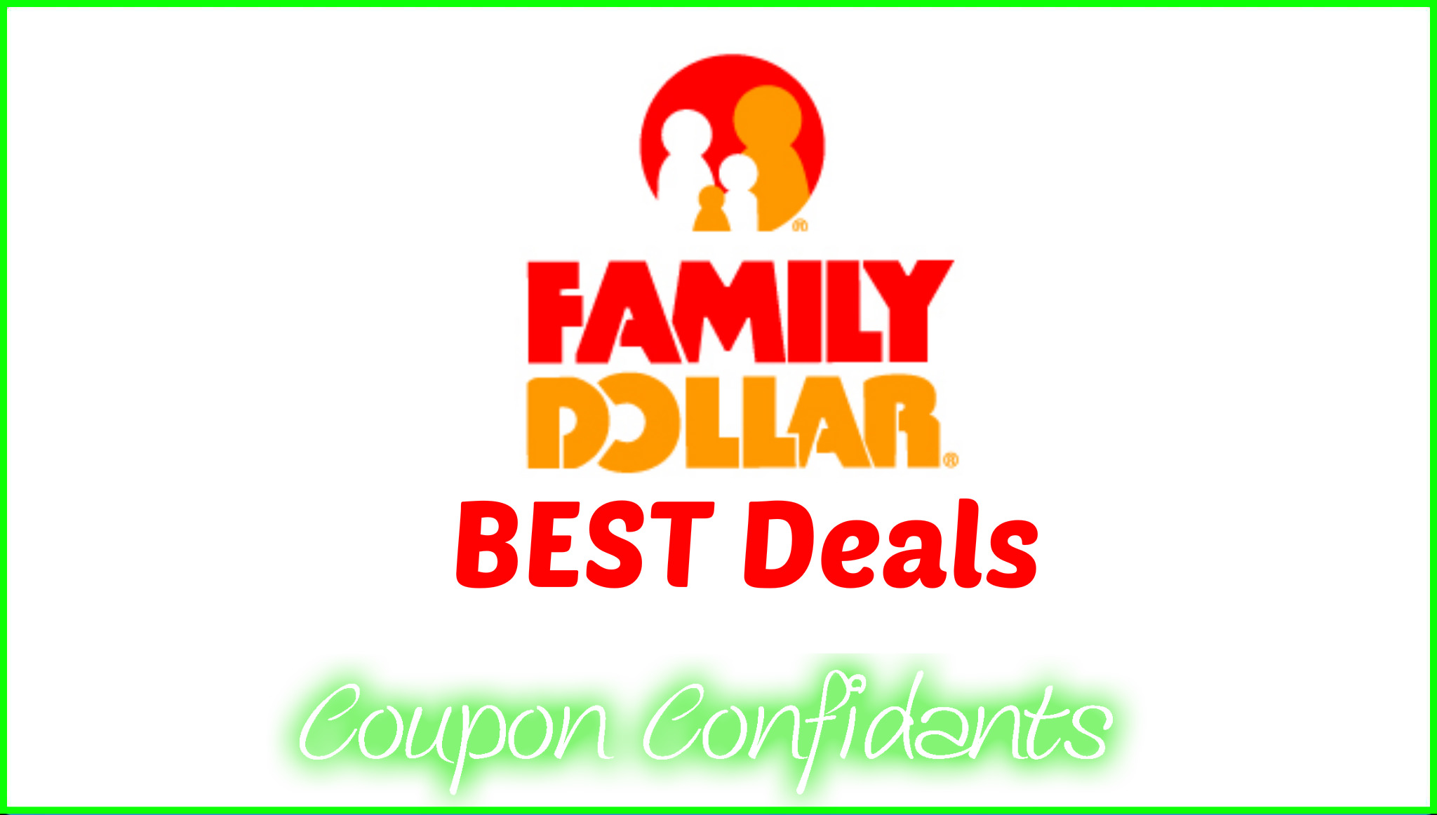 Great deals coupons