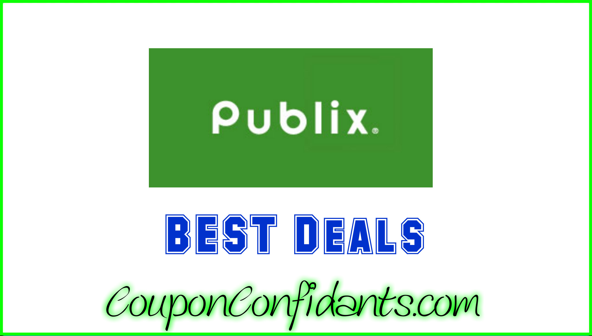 Coupons deals publix