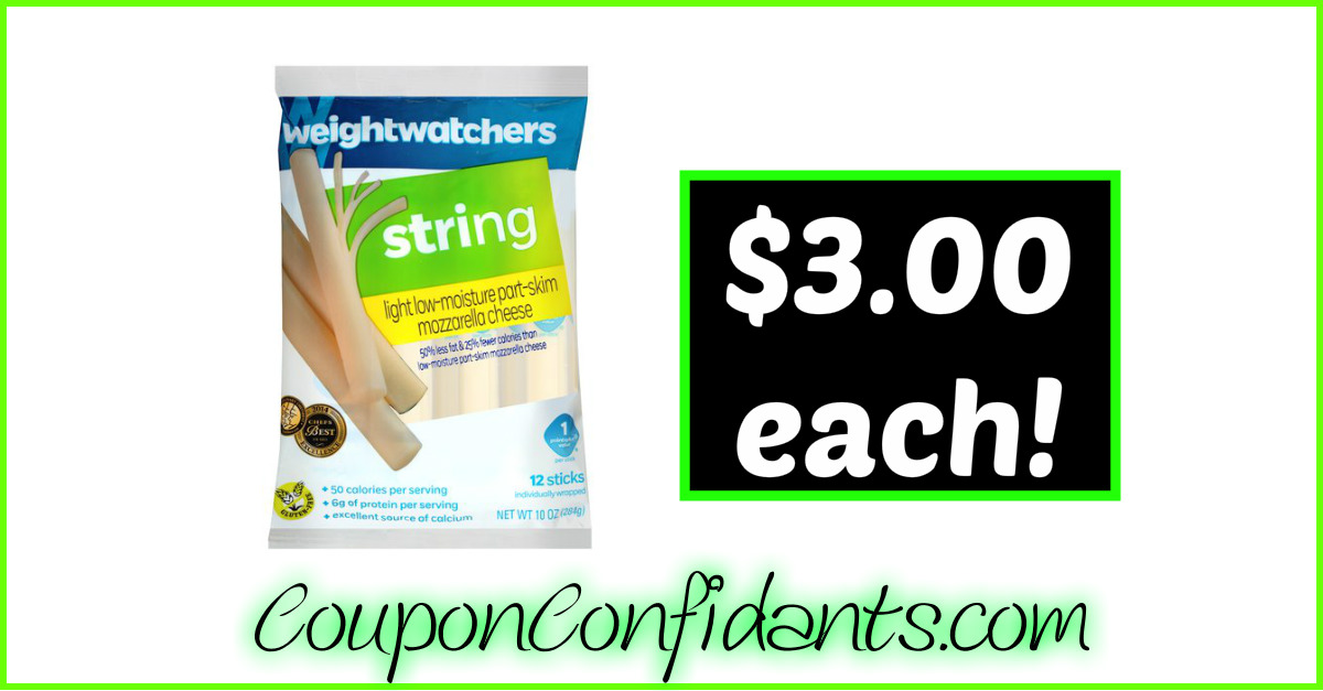 String cheese coupons